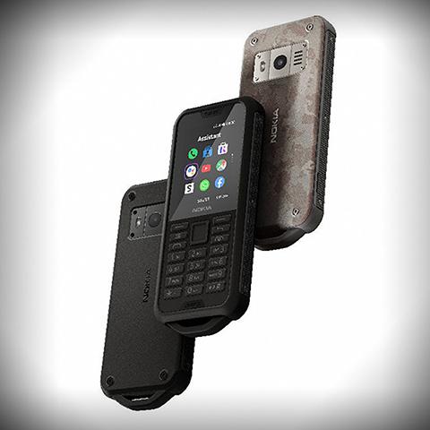 Представлен телефон из прессованных полимеров