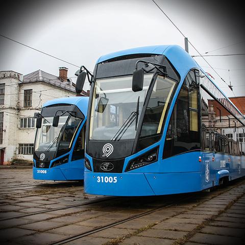 В Москве будут укладывать шпалы из пластика на трамвайных путях