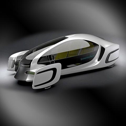 В Японии создали первый пластиковый электромобиль